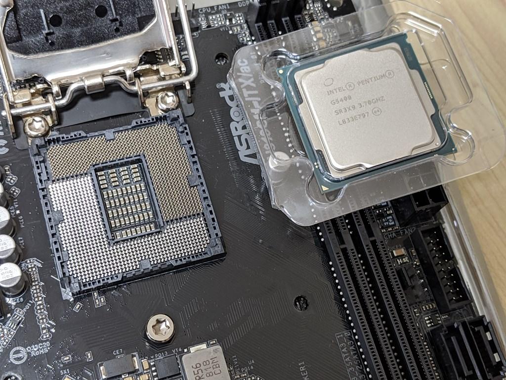 CPUとCPUピン
