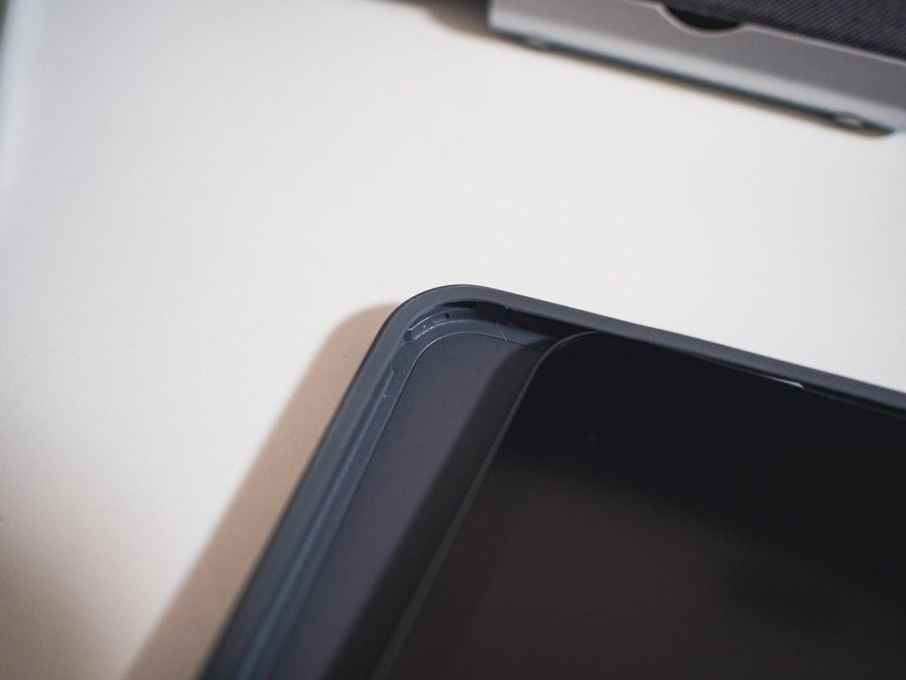 Combo TouchはしっかりiPadを保護してくれている