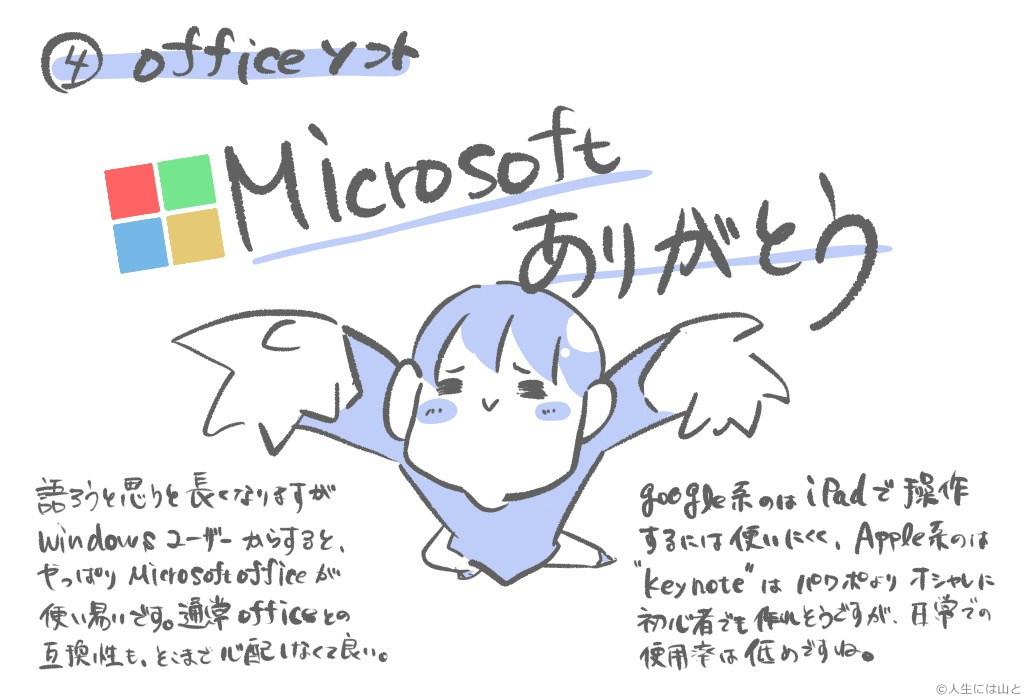 Microsoftに全てを任せておけば、オフィス系は大丈夫